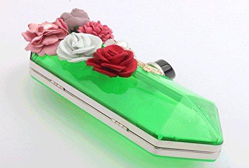 MOGOR, Poschette giorno donna verde Green medium Green