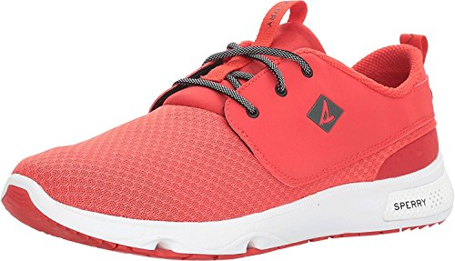 Sperry Mens, Fathom Boat Lace Up Shoes red