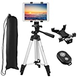 "Best Tripod Mount For Galaxy Note 3s - Tripod for iPad- PEMOTech 40"" Inch Aluminum Camera Review"