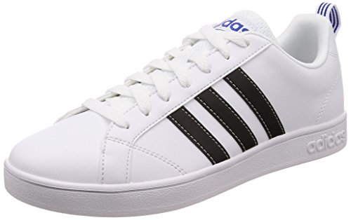 Adidas Vs Advantage F99256, Zapatillas de Deporte Unisex Adulto, Blanco  (White), 42 2/3 EU