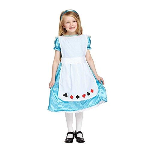 Mädchen Alice Kleinkind Kostüm Age 3 (Kostüm Alice Kleinkind)