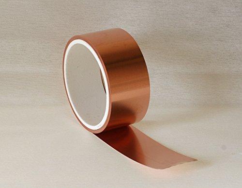 Kupferblech,0,1 x 30 mm,5 m Rolle