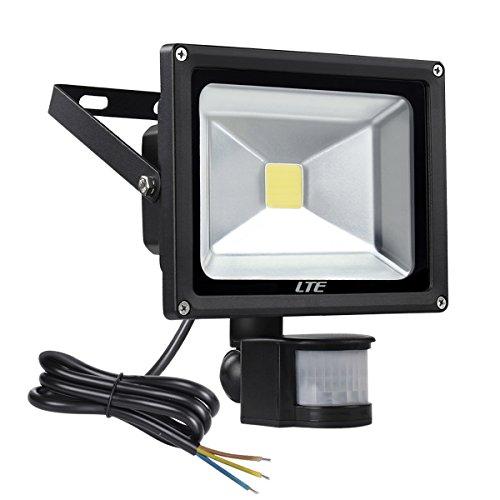 Proyector LED con Sensor de Movimiento, Iluminación de Exterior y Seguridad