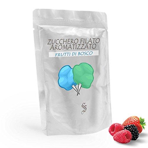 Zucchero aromatizzato ai Frutti di Bosco - Blu - da 500 gr