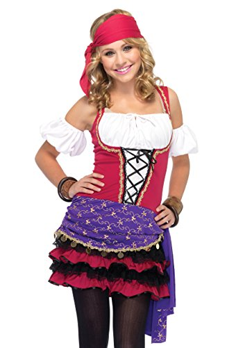- Crystal Ball Gypsy Halloween Kostüm
