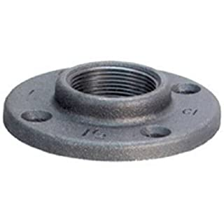 Anvil 8700163754, Malleable Iron Pipe Fitting, Floor Flange, 1/4