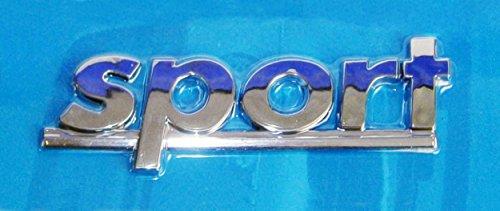 AUTOAUFKLEBER 3D Chrom Deko Aufkleber Emblem Tattoo Schriftzug Auto Sticker (Sport) (Sport-autoaufkleber)