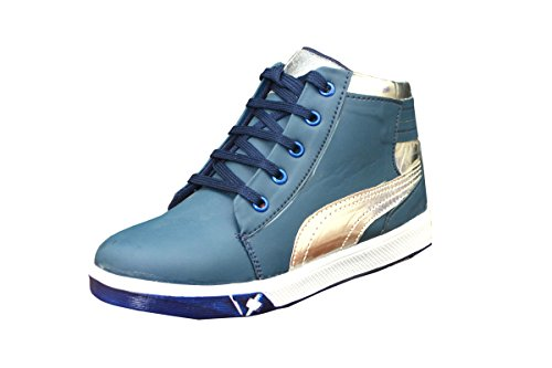 Ashoka Boys Leather Sneakers