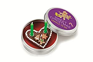 Donkey Kerze in Blechdeckeldose, Sweet Christmas, Candle to go, 220458