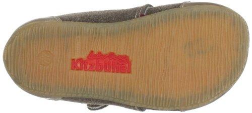 Living Kitzbühel Babyklettschuhe Velour 2321 Unisex-Baby Lauflernschuhe Braun (tundra 212)