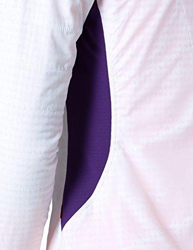 VAUDE bormio veste pour femme Blanc - White/Elderberry