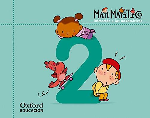 Matematitico 4 años. Cuaderno 2 (Matematítico) - 9788467367072