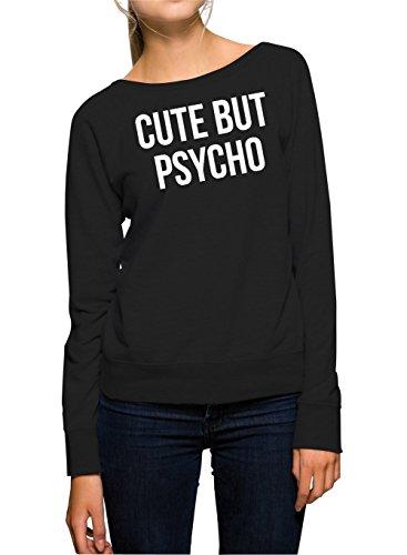 Cute But Psycho Felpa Girls Nero-XL