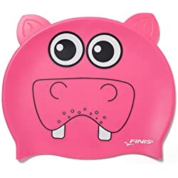 Finis Swim - Gorro de natación infantil, tamaño Cero, color rosa