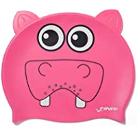 FINIS Kinder Swim Caps Animal Heads Hippo
