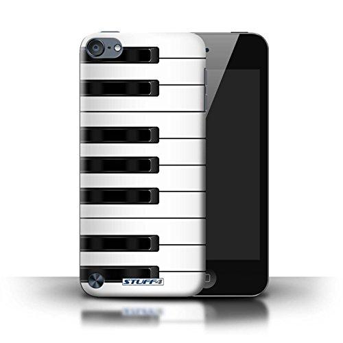 Klavier-hülle 4 Ipod Für (Stuff4 Hülle / Hülle für Apple iPod Touch 5 / Klavier/Piano Muster / Schaltfläche/Tasten Kollektion)