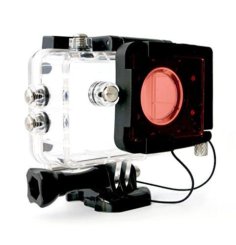 Magic-Filter Rotfilter SJ4000 / Rollei 310 / VicTsing / VTIN - Wifi 4000 Sjcam