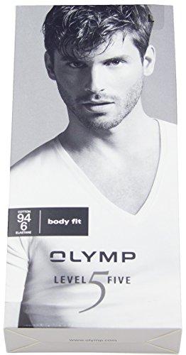 Herren T-Shirt 1/2 Arm , Weiß , M