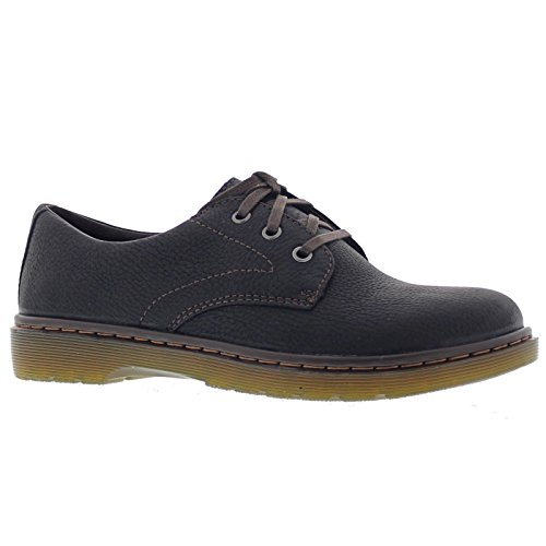Dr. Martens Mens Andre Black Leather Shoes 46 EU