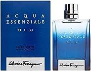 Salvatore Ferragamo Acqua Essenziale Blu Men's Eau De Toillete, 50 ml - Pack