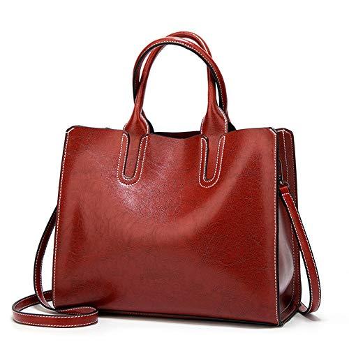 Ldhvf borse donna,borse a tracolla moda borse a mano con piccolo fiocco borsa piccola nero elegante vino bianco rosso