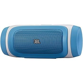 JBL Charge tragbarer Bluetooth Stereo-Lautsprecher (2x 5 Watt) inkl. Li-Ion Akku (6000mAh) blau