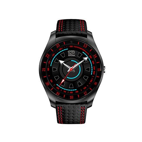 Berrose Smartwatch Funktion: Unterstützung von Telefonkarten-SIM-Dial, Freisprechen, Gesprächsaufzeichnung, Telefonbuch, Bluetooth-Telefon lokale Nachricht, Nachricht Bluetooth Push