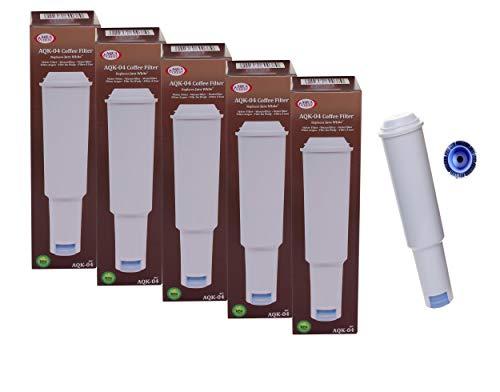5 x Jura Claris plus white 60209 kompatible Filterpatrone AQK0-4 für Impressa