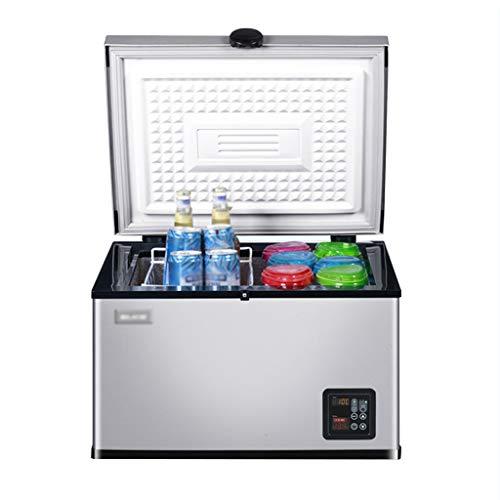 35 Flasche Wein Kühler (Xinjin Autokühlschrank 35L tragbarer DC Inverter Kompressor Kühl- / Gefrierschrank, Kleinwagenkühler Auto und Haushaltsminikühlschrank, Camping im Freien)