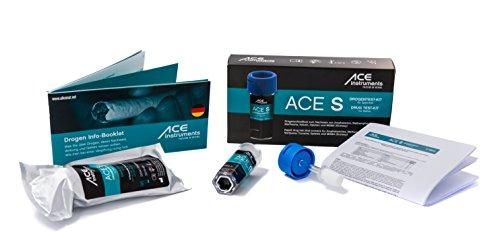 ACE S Multi Drogentest Speichel | 6 versch. Drogenarten | Speed Kokain - Schnell Drogentest