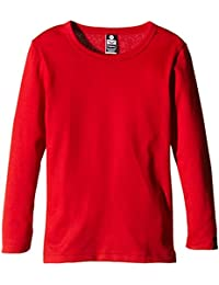 Trigema Jungen Langarm-Shirt, T-Shirt à Manches Longues Mixte