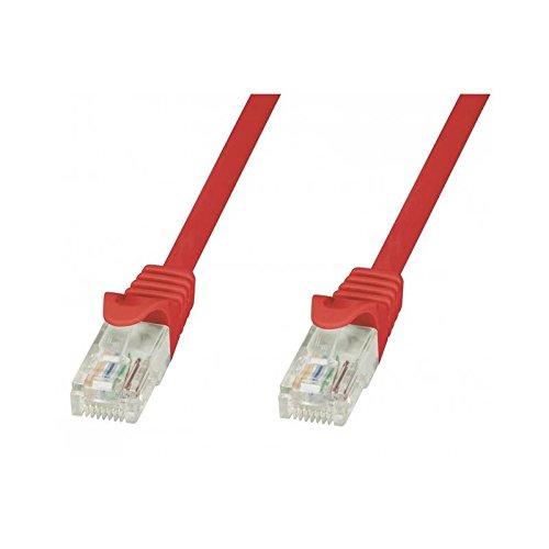 Preisvergleich Produktbild Patch Cbl Cca Utp C5E 10M / 33Ft Red