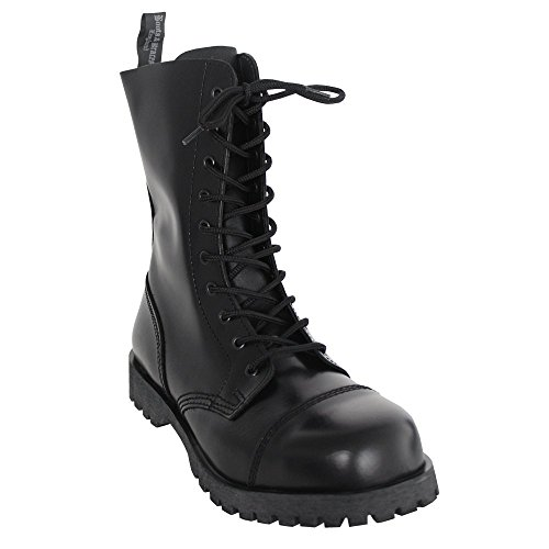 Boots & Braces (10-Loch) (schwarz) (D 40 / UK 6)