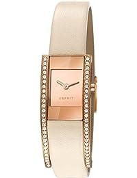 Esprit Damen-Armbanduhr Lacey Spark Analog Quarz Leder ES107362002