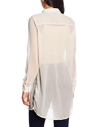 VILA CLOTHES Damen Bluse Vinilla Dot L/S Shirt Rosa (Pink Tint)