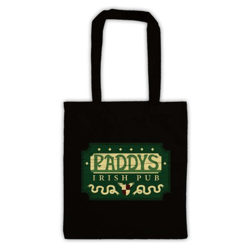 "Paddys Irish Pub ""Tote Bag Nero"