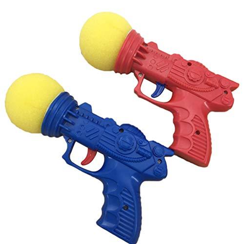 LIOOBO Schaumballschießenspielzeug des Schwammballwerfers 10pcs im Freien für Kinderkinder - gelegentliche Farbe -