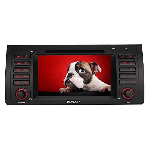 Pumpkin Autoradio Android 5.1 pour BMW E39 E53 M5 X5 Quad Core Stéréo Double Din Soutient GPS Navigation Bluetooth Lecteur DVD 3G WIFI CAM-IN OBD2 DAB +