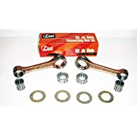 ROCKSTA9 Yamaha Rd350 Long Brand Japan Connecting Rod Kit With Small And Big End Needle Bearings With Washers (2 Kits, One Each For Both Cylinders) Gudgeon Pins Rd 350 Cafe Racer 1973-75