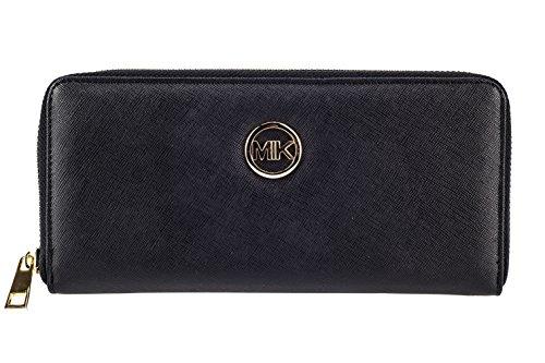 MIK Damen Geldbörse, Trendy Elegant PU Leder Portemonnaie Geldbeutel und Handytasche in einem...