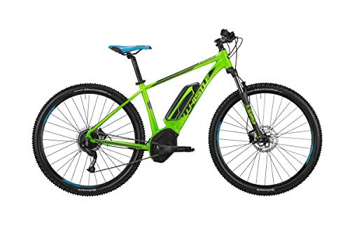 WHISTLE E-Bike B-Race CX500 29\'\' Bosch 500Wh 9v Verde Taglia 51 2019 (eMTB Hardtail)