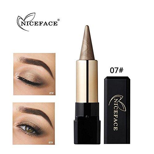 Gaddrt NICEFACE Lidschatten Schönheit Wasserdicht Eyeliner Creme Eye Liner Stift Bleistift Lidschatten Gel Make-Up (G)