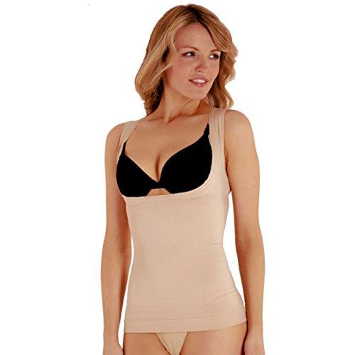 Bodyfit -  Maglia modellanti  - Donna Nude