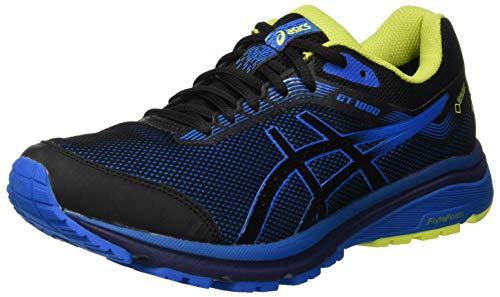 ASICS GT-1000 7 G-TX, Scarpe da Running Uomo, Nero (Black/Racer Blue 001), 44.5 EU