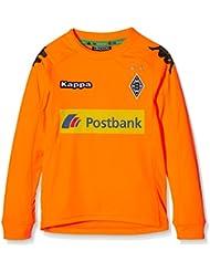 Kappa Borussia Mönchengladbach–Camiseta de portero, otoño/invierno, infantil, color Naranja - 299 Shocking Orange, tamaño 8 años (128 cm)