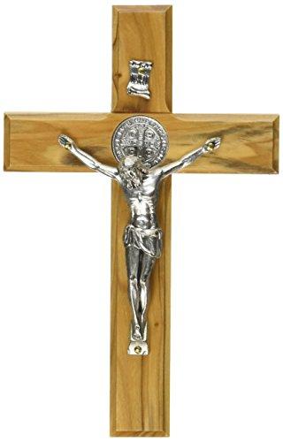 holy-land-main-saint-benot-saint-mur-en-bois-croix-crucifix-plaqu-argent-15cm