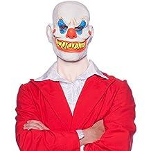 Careta Máscara de Látex Payaso Terrorífico Accesorios Carnaval Halloween