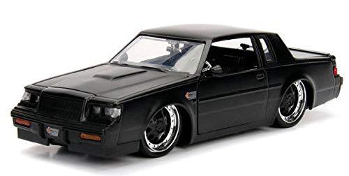 Jada 1987 Buick Grand National Schwarz Primer Black 1:24 Toys 30342