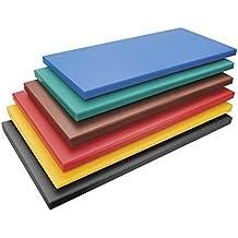 Lacor 60473 - Tabla corte polietileno para carnes, GN 1/2 x 2 cm