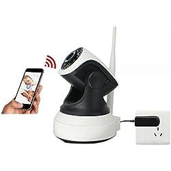 HD Wifi Kamera - Überwachungskamera Instar, Dome Kamera Indoor Wlan PTZ / IP Cam Dome Wlan IP Kamera Mikrofon - Unterstützung Zwei-Wege-Stimme & Netzwerk P2P WIFI IP Kamera